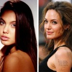 Angelina Jolie before and after plastic surgery 11
