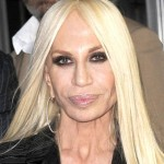 Donatella Versace after first plastic surgery operation