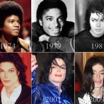 Michael Jackson from kid to plastic surgery disaster