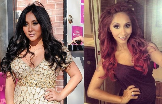 Snooki before and after plastic surgery and weight loss