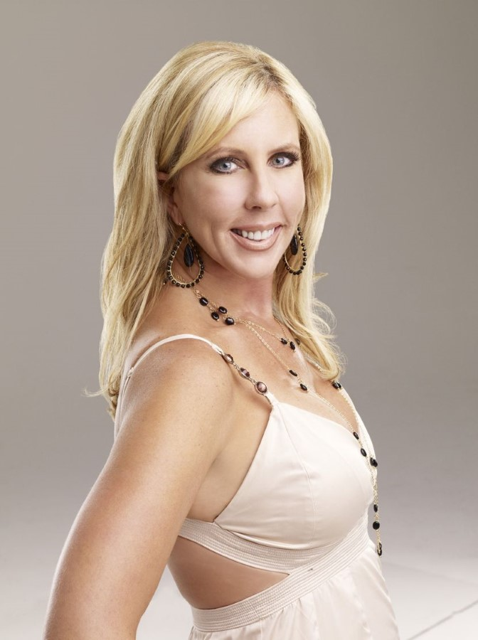 Vicki Gunvalson after many plastic surgery
