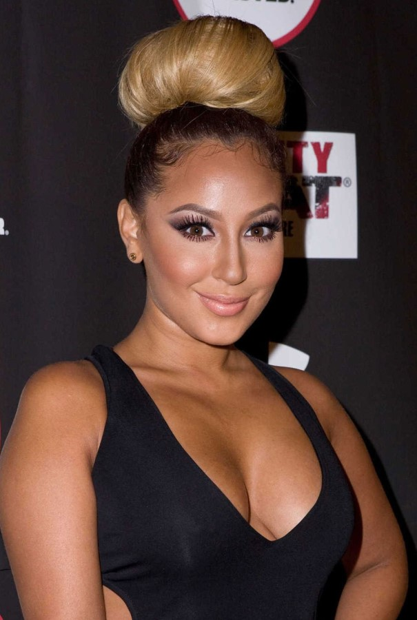 Adrienne Bailon after breast augmentation