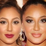 Adrienne Bailon after using Botox