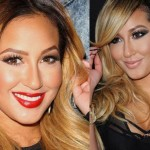 Adrienne Bailon before and after nose job 02