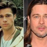Brad Pitt before and after plastic surgery (21)