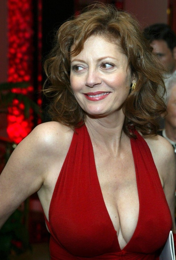 Susan Sarandon after breast augmentation