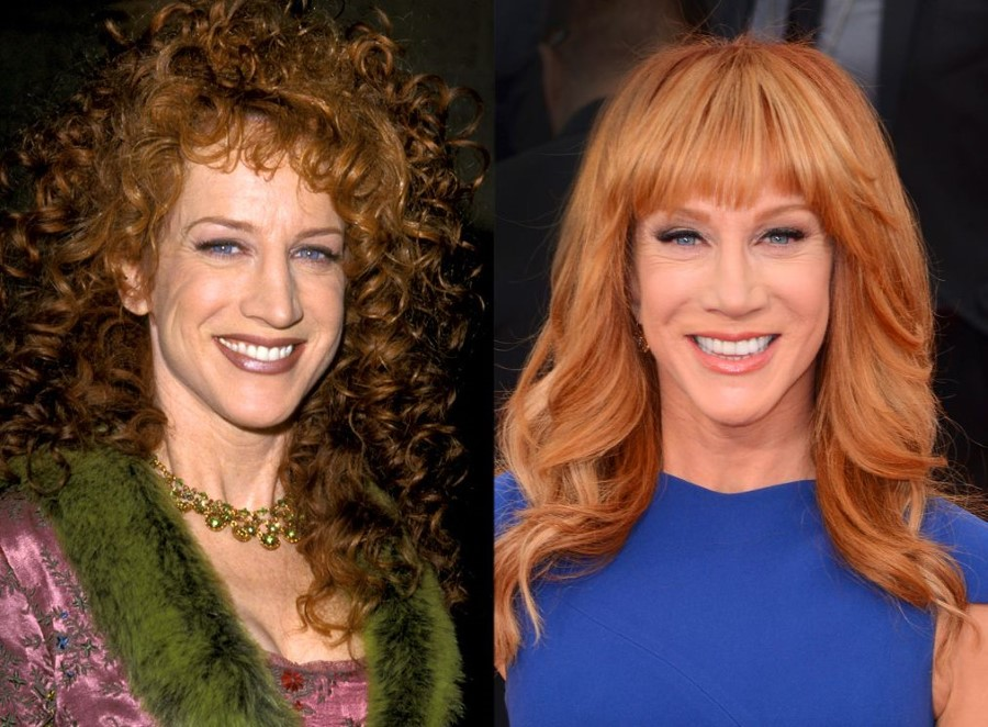 Kathy Griffin - Enjoying new looks with plastic surgery