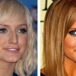 Ashlee Simpson before and after plastic surgery 24