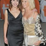 Chloe Lattanzi plastic surgery 3 with Olivia Newton John