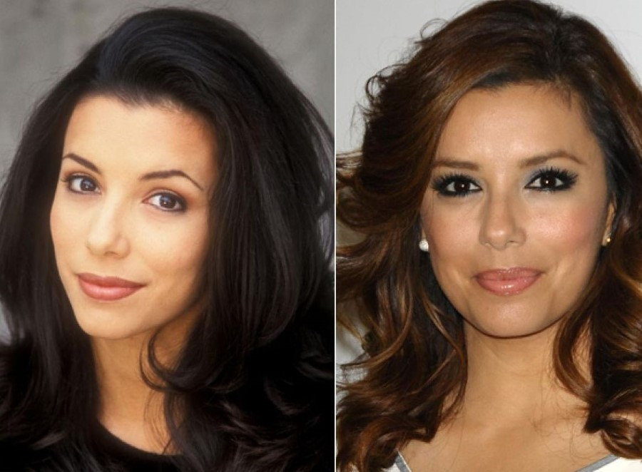 Eva Longoria before andf after plastic surgery