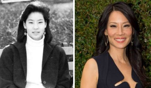 Lucy Liu before and after plastic surgery