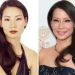 Lucy Liu before and after plastic surgery 3