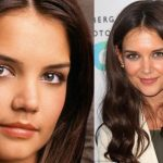 Katie Holmes before plastic surgery 13
