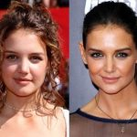 Katie Holmes before plastic surgery 5
