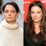 Katie Holmes before plastic surgery 8