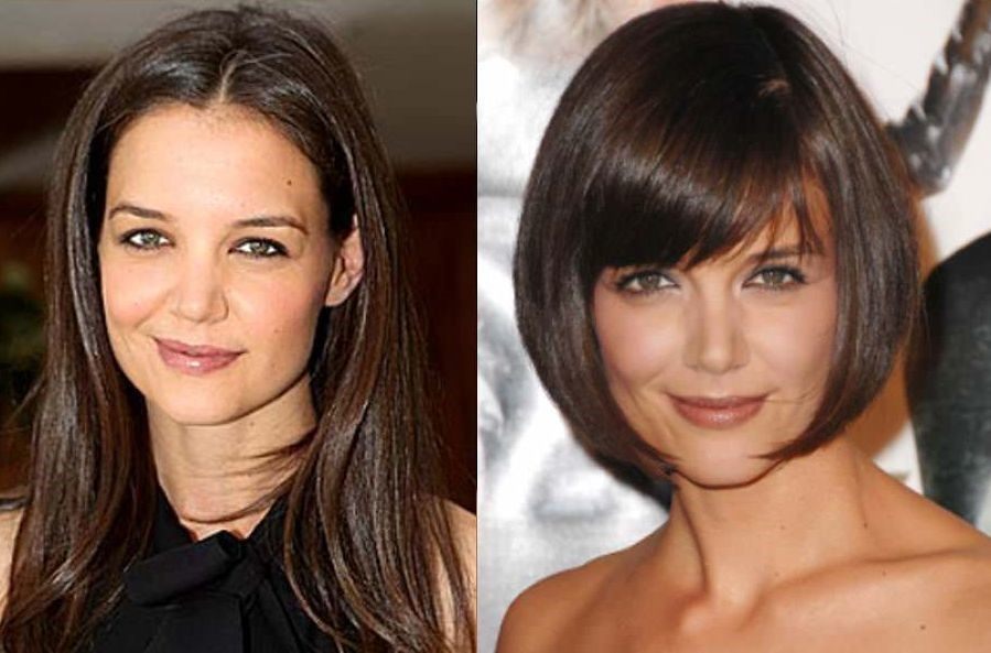 Katie Holmes before plastic surgery