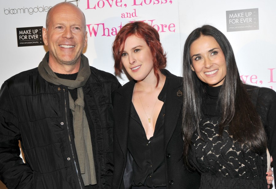 Bruce Willis plastic surgery (31) with Rumer Willis and Demi Moore