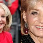 Barbara Walters before and after plastic surgery (11)