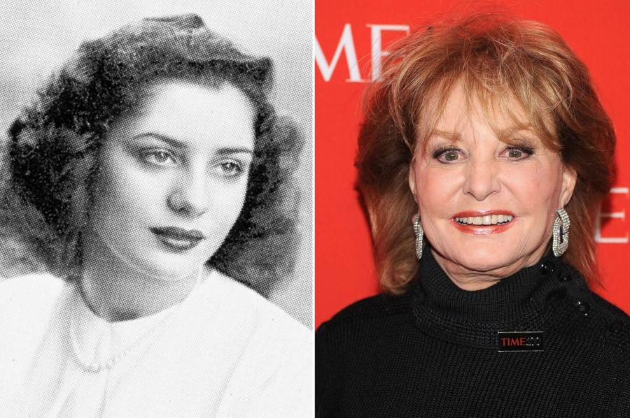 Barbara Walters before and after plastic surgery
