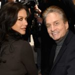 Michael Douglas plastic surgery (34) with Catherine Zeta Jones