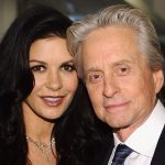 Michael Douglas plastic surgery (7) with Catherine Zeta Jones